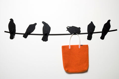 Birds On A Wire Coat Rack - Stumble & Loaf