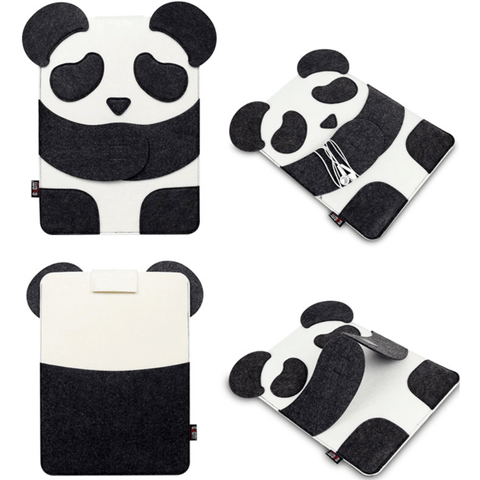 Panda Laptop Sleeve - Stumble & Loaf
