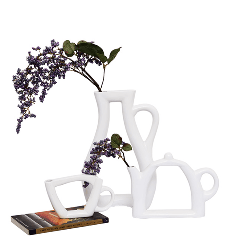 Tea Set Vase (Set of 3) - Stumble & Loaf