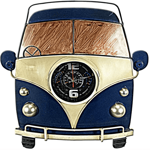 VW Camper Van Wall Art/Clock - Stumble & Loaf
