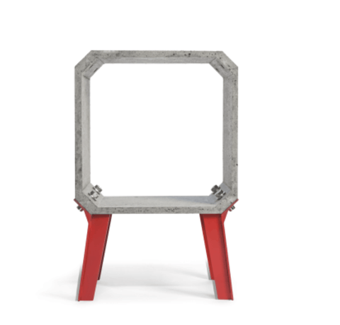 Accurrents Cement Side Table