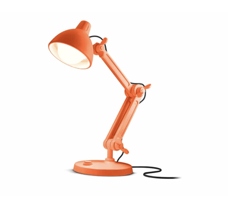 Giant Floor Lamp - Orange