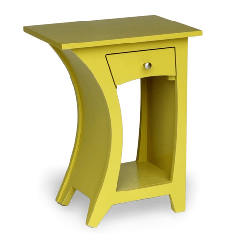Curvy Bedside Table - Stumble & Loaf