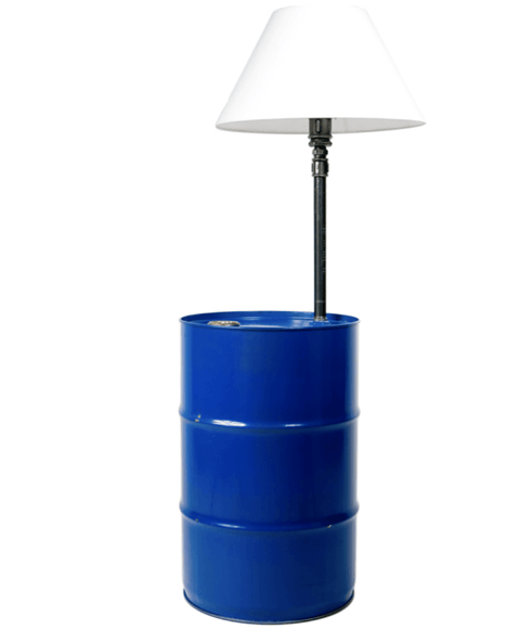 Barrel Table / Lamp
