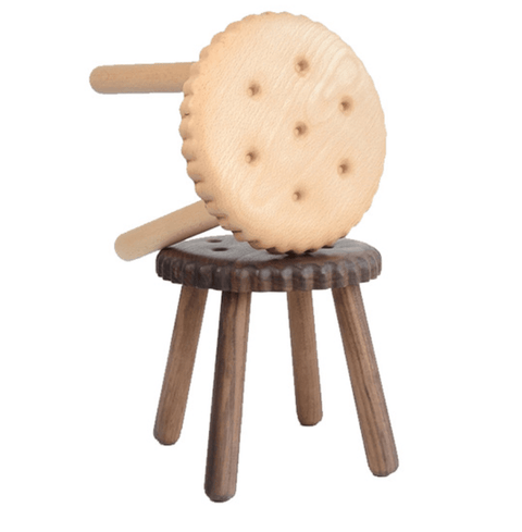 Biscuit Stools (Set Of 2)