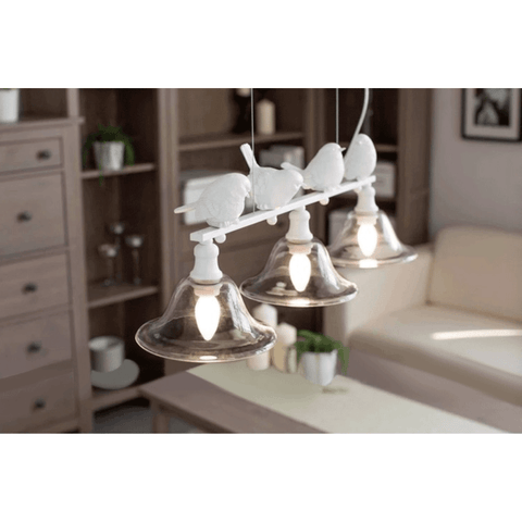 bird pendant light