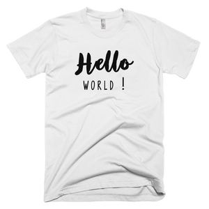T-Shirt Hello World !