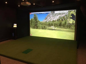 Trackman 4 Converted Garage Installation
