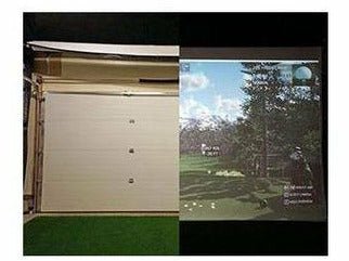 Golf Simulator Electric Impact Screen