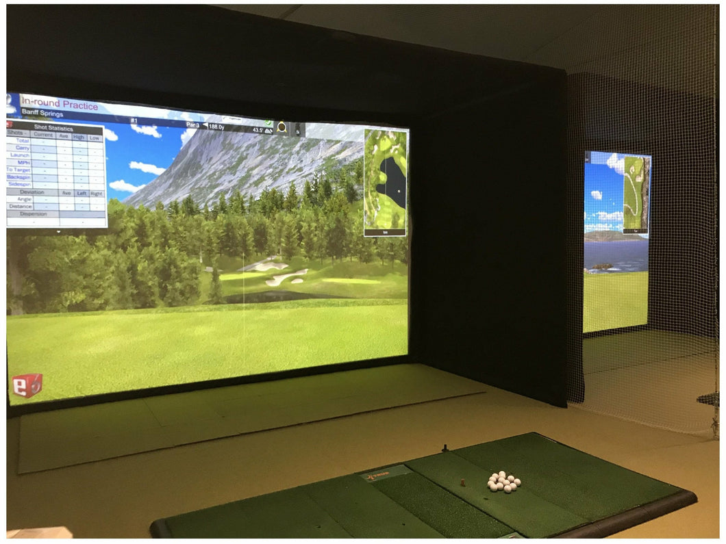 Golf Simulator Enclosure