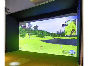 Elite Golf Simulator Enclosure