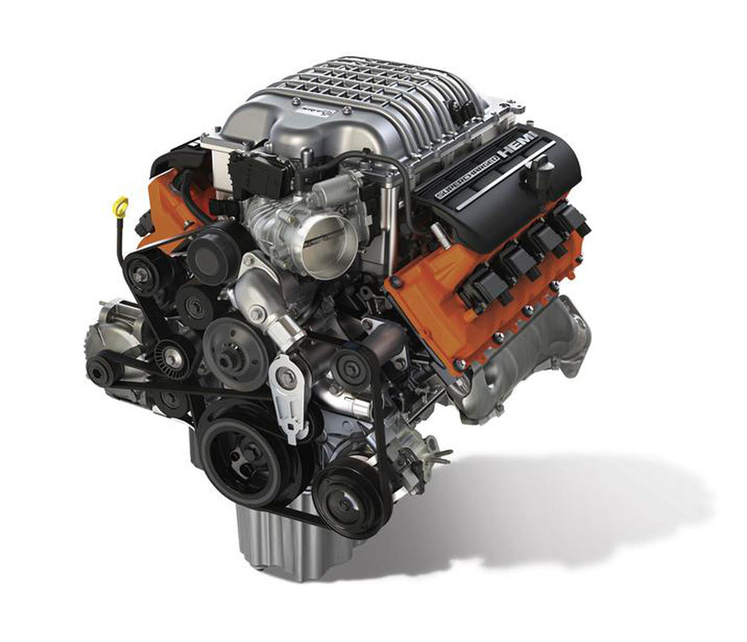 6.2L HELLCAT SUPERCHARGED CRATE HEMI® ENGINE KIT