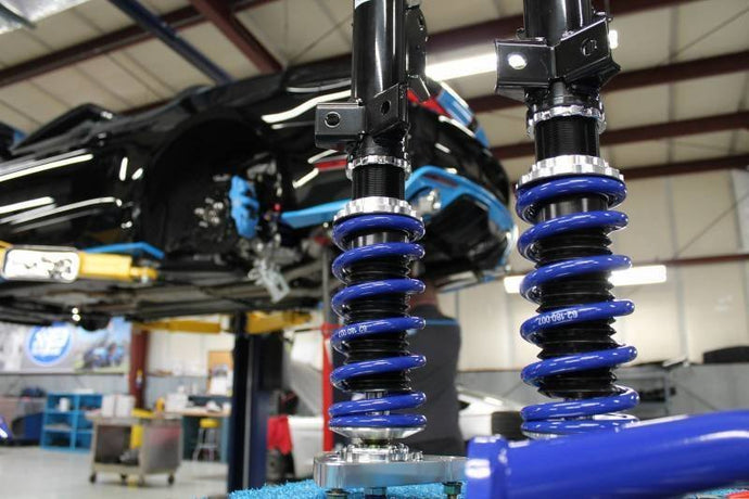 Petty's Garage Adjustable Coilover Kit 2015 to Current MUSTANG GT