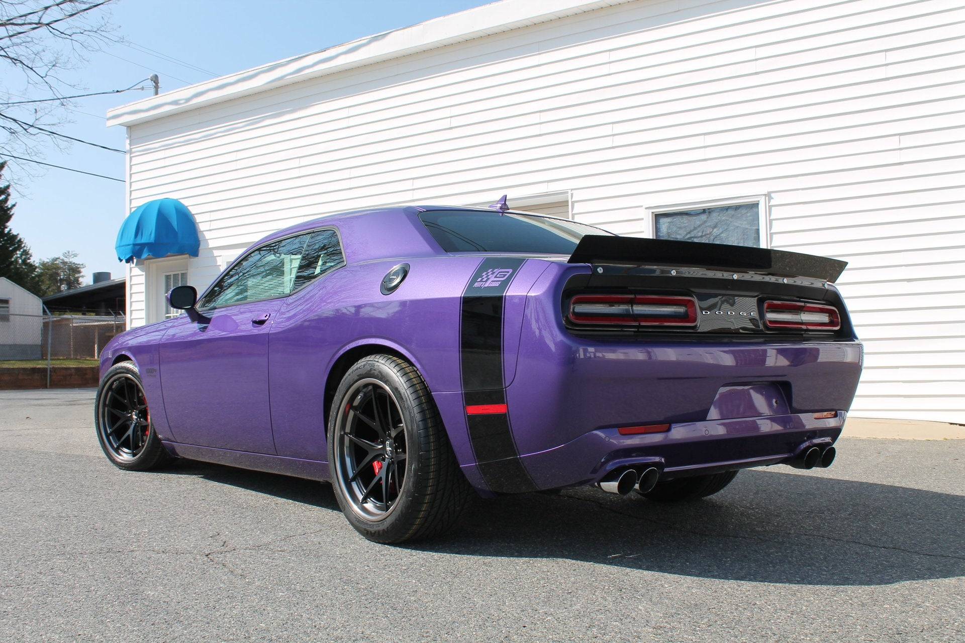 petty s garage challenger rear spoiler