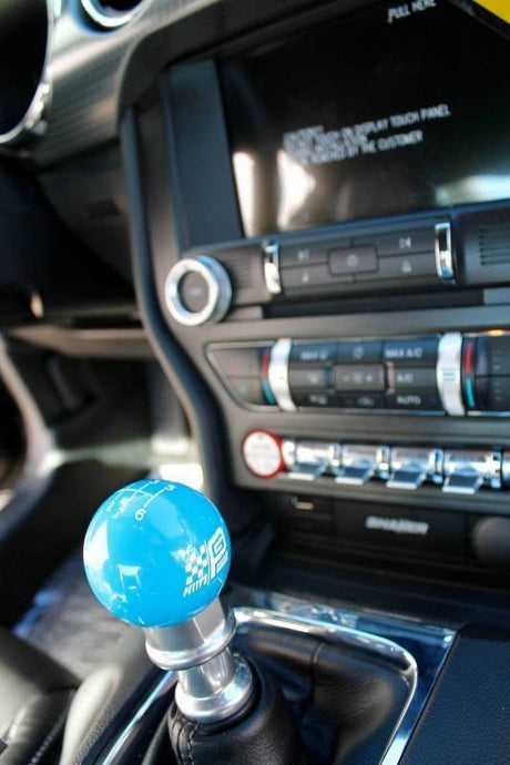 Petty's Garage Mustang Blue Shift Knob