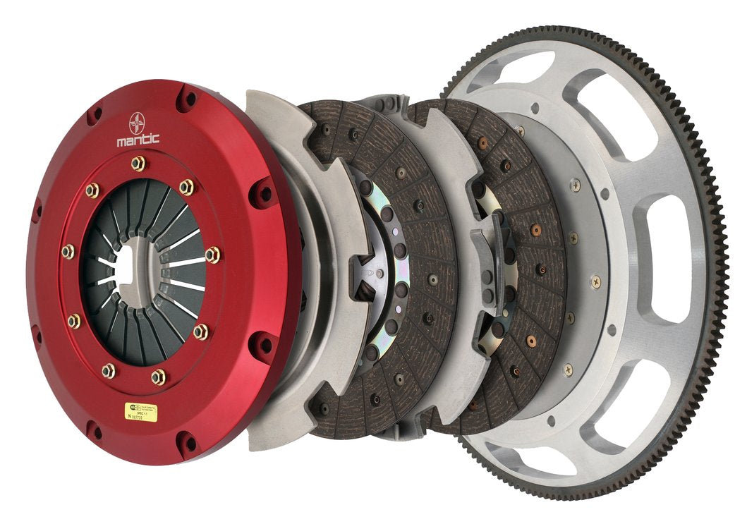 Twin Disc Clutch 2018 Mustang GT - Organic (White Box)