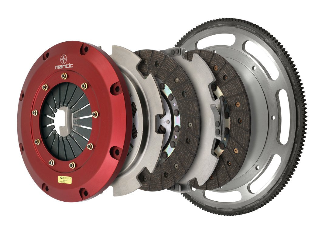 Twin Disc Clutch 2011-2017 Mustang GT - Organic (White Box)