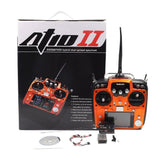 Radiolink AT10II (Mode 2) 12-Channel Transmitter Radio with R12DS Receiver - Orange