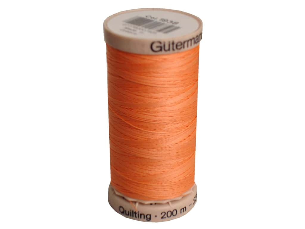 Hand Quilting Thread - 1938 - Peach - All About Quilting