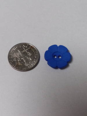Dill Brand Flower Button - Small - All About Quilting