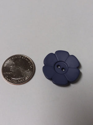 Dill Brand Flower Button - Large - All About Quilting