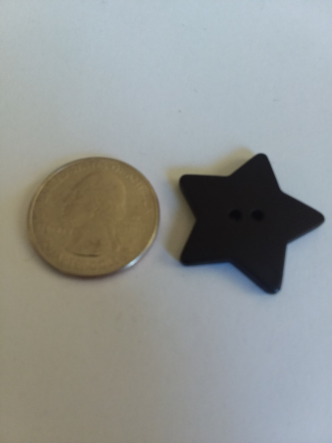 Dill Brand Star Button - Large - All About Quilting