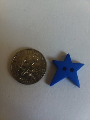 Dill Brand Folksy Star Button - Small - All About Quilting