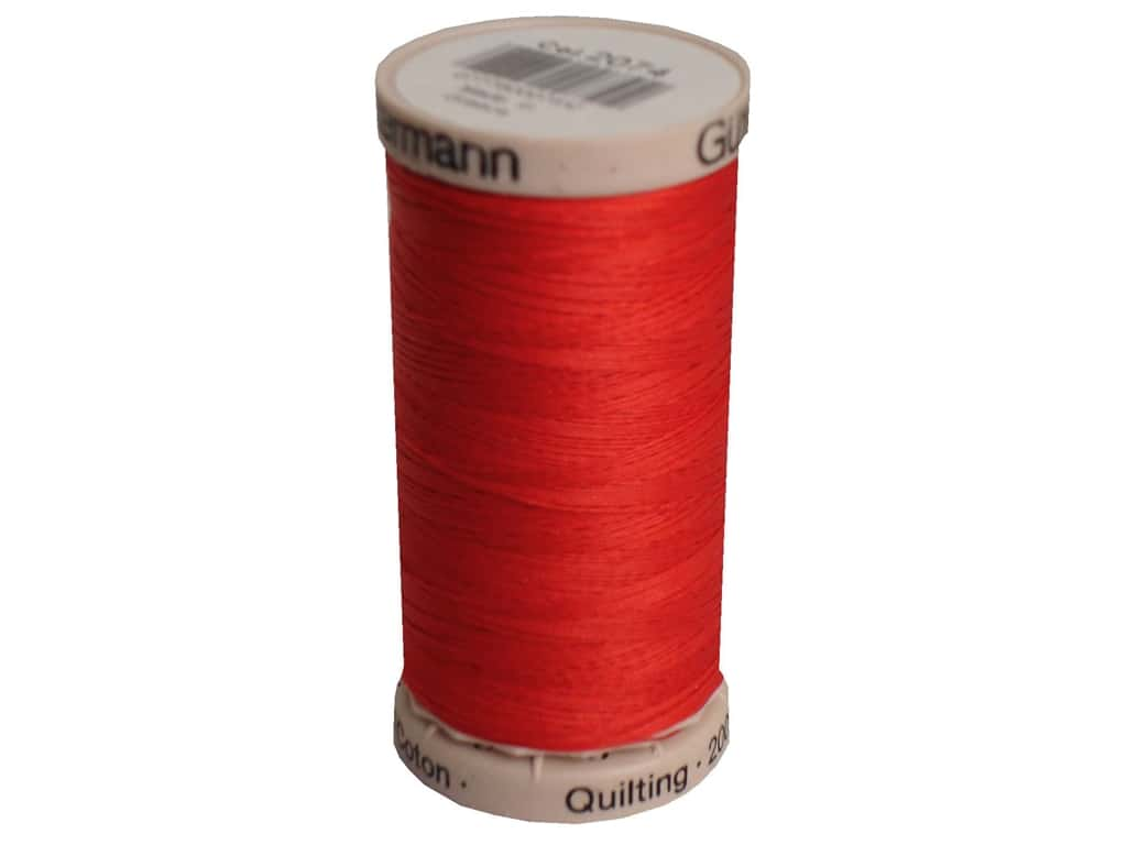Hand Quilting Thread - 2074 - Red - All About Quilting
