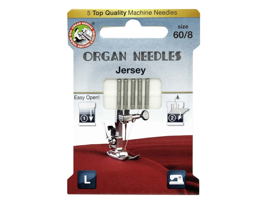 Organ Jersey Machine Needles - All About Quilting
