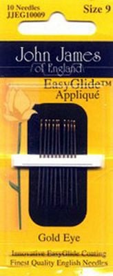 Gold 'n Glide Applique Needles Size #9 - All About Quilting