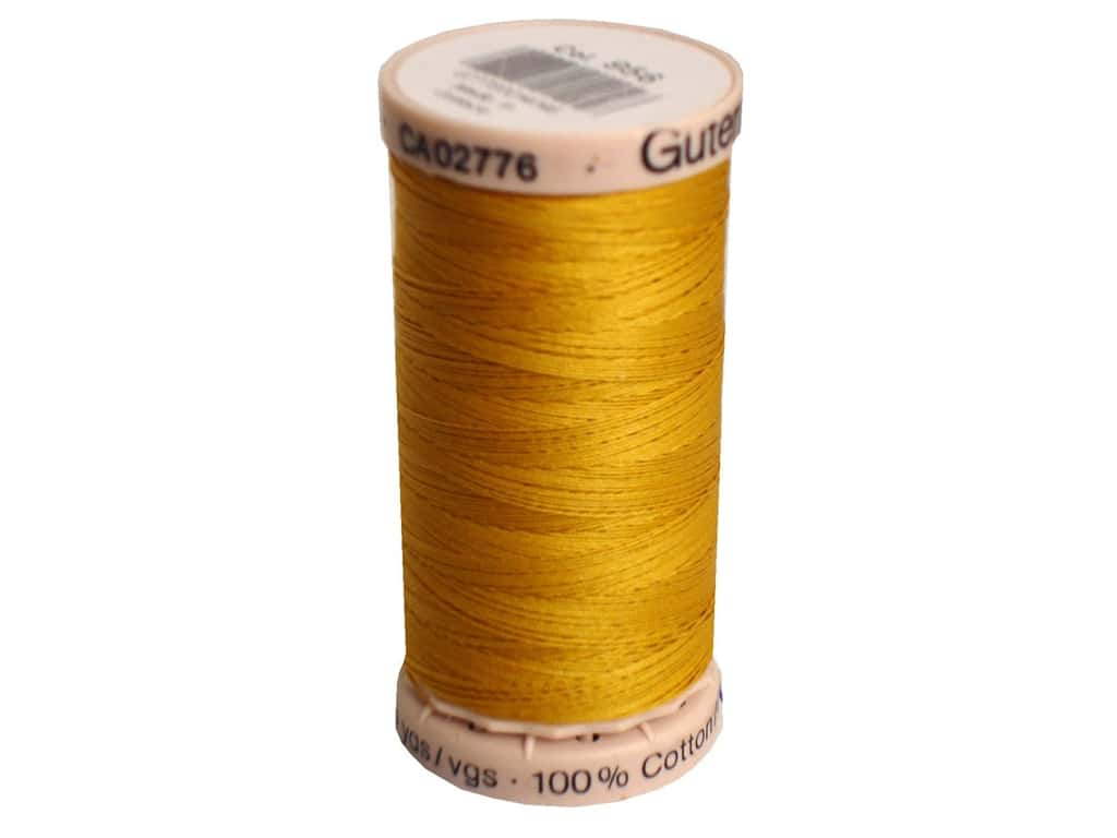 Hand Quilting Thread - 758 - Yellow - All About Quilting