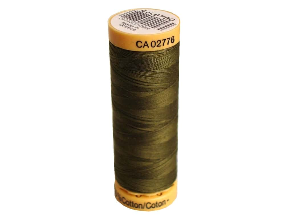 100% Cotton Thread - 8780- Olive - All About Quilting
