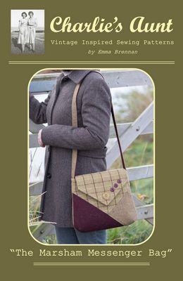 Marsham Messenger Bag Pattern - All About Quilting