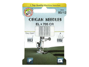 Organ EL x 705 CR Machine Needles - All About Quilting
