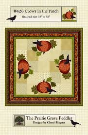 Crows In The Patch Quilt Pattern - All About Quilting