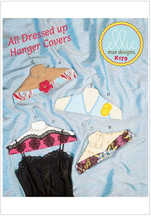 All Dressed Up Hanger Covers Pattern - All About Quilting