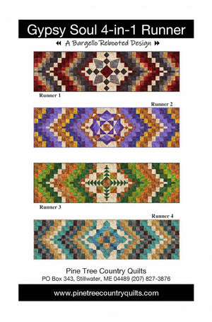 Gypsy Soul 4-in-1 Runner Pattern - All About Quilting