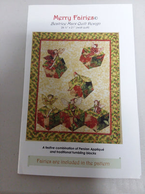 Merry Fairies Pattern - All About Quilting