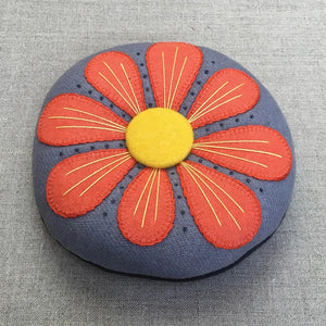 Petals Wool Pin Cushion Kit - All About Quilting