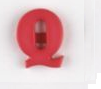 Letter Button - Q - All About Quilting