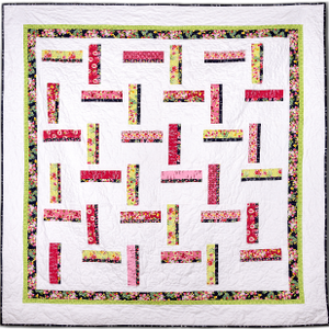 Line Breaks Quilt Pattern - All About Quilting