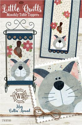 Little Quilts Monthly Table Toppers - All About Quilting