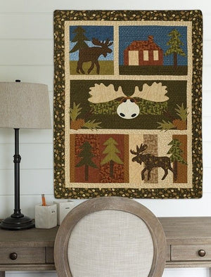 Moose Crossing Quilt Pattern - All About Quilting