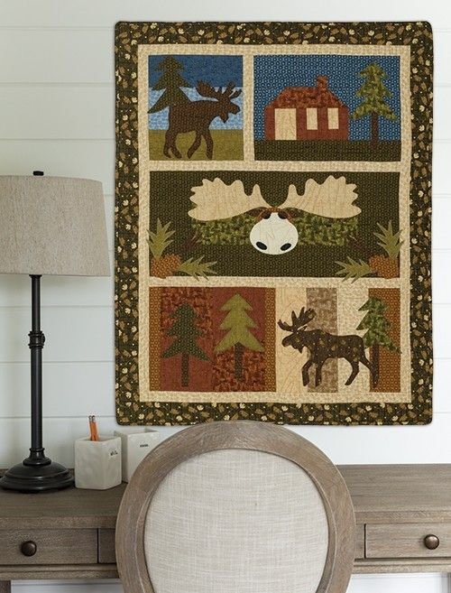 Moose Crossing Quilt Pattern