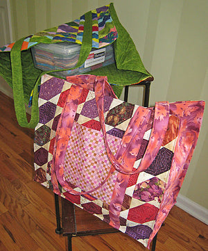 Scrap Sack Pattern - All About Quilting