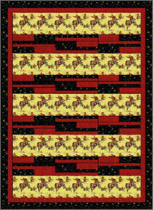 Strip Tease Pattern - A 3 Yard Quilt - All About Quilting