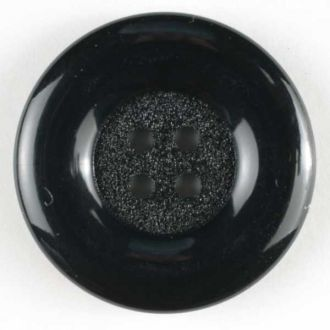 Dill Brand Xtra Large Fashion Button - Black - All About Quilting