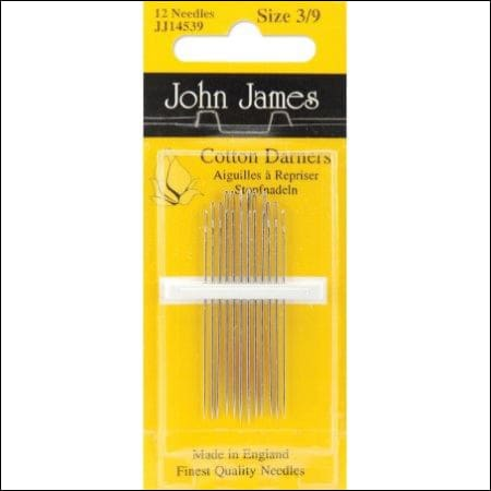 Cotton Darners Needle Size 3/9 - All About Quilting