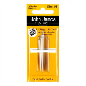 Cotton Darners Needles Size 1/5 - All About Quilting