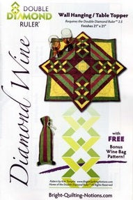 Diamond Wine Pattern - All About Quilting